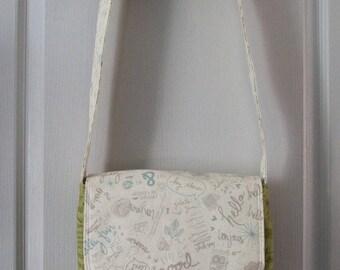 Small messenger bag pattern, it's Paris!