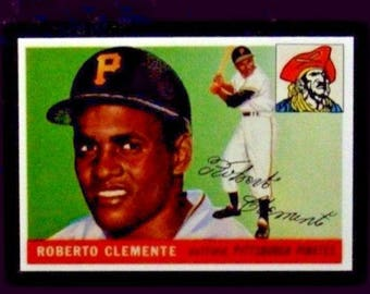 1955 Topps Baseball #164 Roberto Clemente (RC) RP [Pittsburgh Pirates]