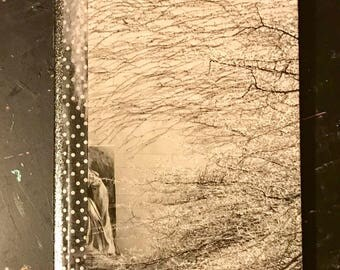 Shades of Gray Handmade Scrapbook Journal