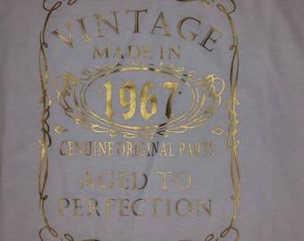 50th Birthday shirt 1967 - Women's