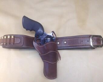 Western holster rig