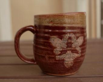 Triple Bee Mug
