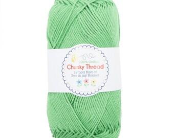 Chunky Crochet Thread from Lori Holt - Green