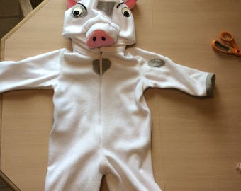 New 2T Pua pig costume