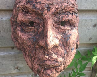 Mask 2 - Wall Sculpture