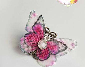Ring pink butterflies
