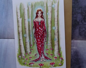 Brighid's Wood A5 Art Card
