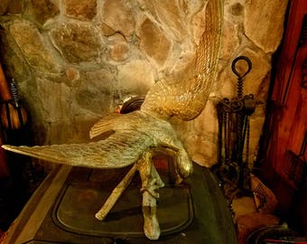Bronze Eagle Statue, Bronze American Eagle, American Eagle Statue, Gift for Him