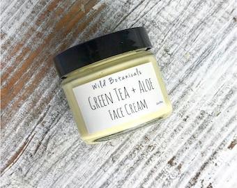 Green Tea and Aloe Face Cream