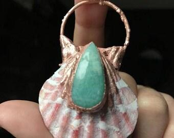 Amazonite Mermaid Paradise Necklace