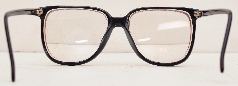 Liz Claiborne Eyeglasses LC 12 Navy Blue NA 135 Nerd Oversized Big ...
