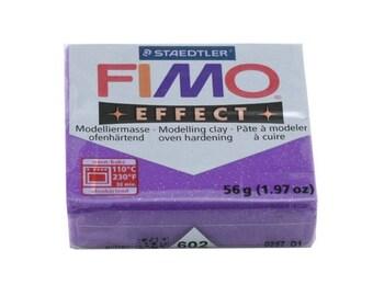 FIMO Effect No. 602 lilac glitter bread 56gr