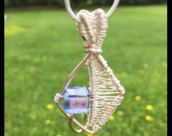 Kite shaped necklace