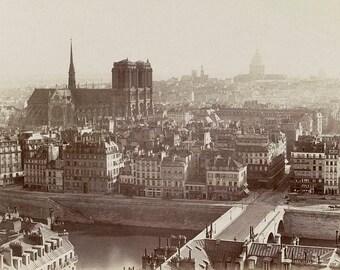 1865 Charles Soulier, Panorama de Paris, France