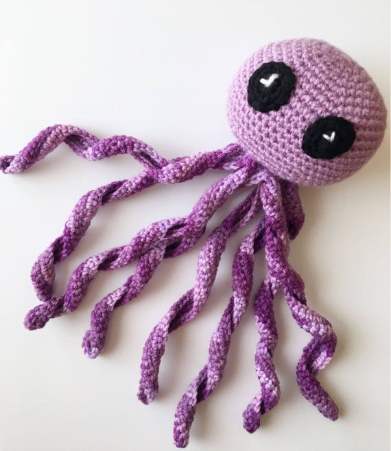 Crocheted Octopus Softie