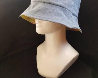 Repurposed Denim Bucket Hat