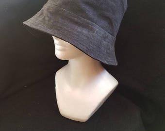 Handmade Repurposed Fabric Bucket Hat