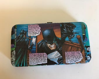 Batman Comics Wallet