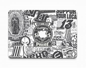 MacBook Air Pro Decal Sticker - Mac Skin Front Keyboard Fully Cover