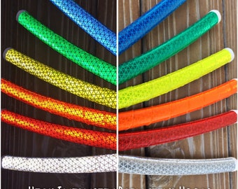 NEW* •High Intensity Reflective Hoop• Polypro or HDPE Hula Hoop