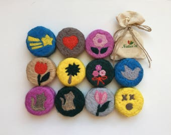 Felted Soap - Free Shipping