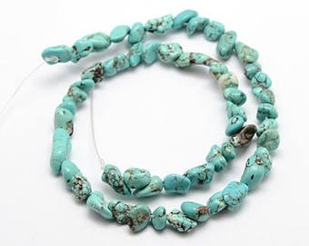 Turquoise Nugget Strand