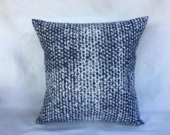 Couch Cushion Cover - Navy Throw Pillow Cover - Pillow Shams - Navy Accent Pillows