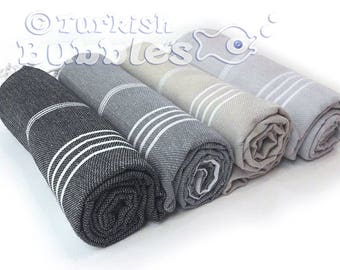 S A L E, Turkish Towel Turkish Beach Towel Peshtemal Bridesmaid Gift Turkish Bath Towel  Fouta Wedding Gift Favor Organic Cotton For Her
