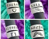 Nurse doctor Stethoscope ID tag - nurse gift - student nurse gift - stethoscope name tag - stethoscope personalized name tag - custom made f