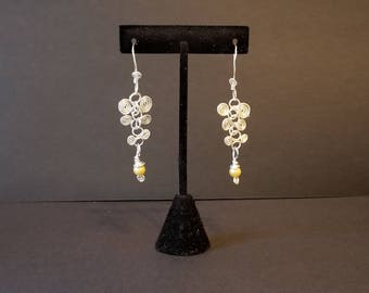 Snake Vertebrae Earrings