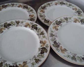 4 Royal Doulton Larchmont Dinner Plates Plate 270 mm