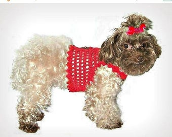 4th of July SALE-20% OFF Dog Harness / Elegant Handknitted Harness-Sweater For Small Dogs