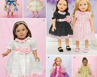 "Simplicity Sewing Pattern 1297 18"" Doll Clothes"