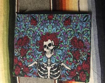Grateful Dead Bertha Zipper Pouch, accessory case