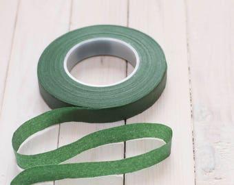 Stretch tape green 1/2 (12.5mm)
