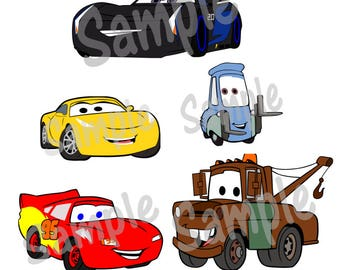 Cars 3 Svg files