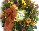 Autumn Wreaths, Welcome W...