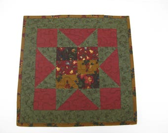 Table Runner, Patchwork, Table Topper, Quilted Table Runner