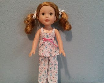 Wellie Wisher doll pajamas