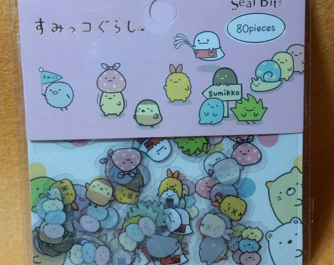 Kawaii Sumikko Gurashi Sticker Sack by San X