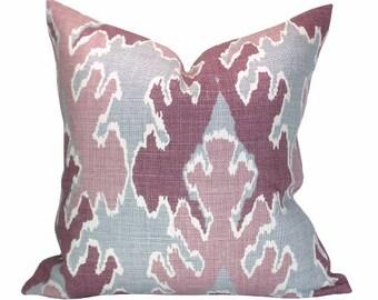 Bengal Bazaar pillow cover in Magenta