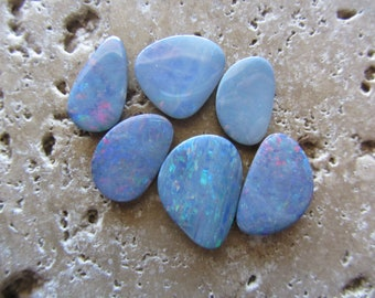 Natural Opal Doublets 6 stone parcel