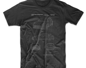 Sports Car Patent T Shirt, Car Shirt, Teen Shirt, Automotive Shirt, PP0995