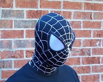 Black Amazing SpiderMan Mask