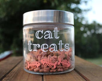 cat treats | jar