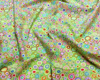 Kaffe Fassett Collective Paperweight GP20 Lime Free Spirit Fabric