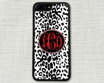 Leopard iPhone 7 Plus Case, Animal Print iPhone 6 Case, Cheetah iPhone 6S, iPhone Accessory, Gift for Her, iPhone 6S case 1111