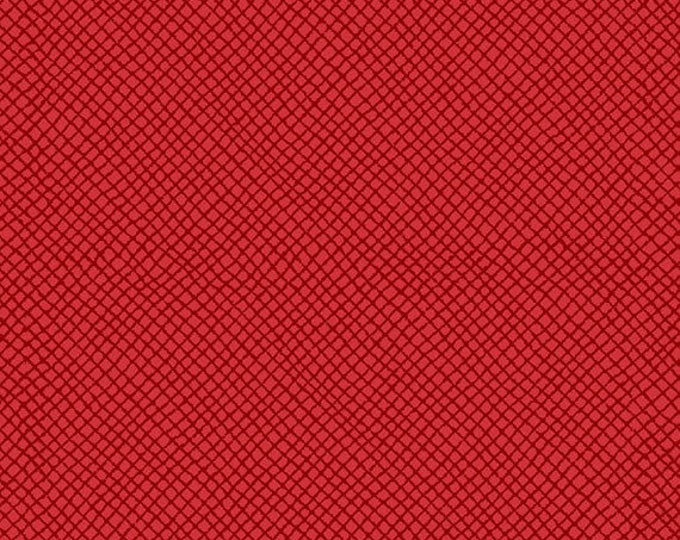 """10"""" REMNANT Peanuts - Hugs for Heroes - Netting Blender in Red - Snoopy Cotton Quilt Fabric - Quilting Treasures - 22775-R (W3114)"""