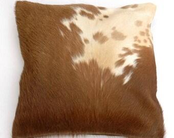 Natural Cowhide Luxurious Hair On Cushion/ Pillow Cover (15''x 15'') A104