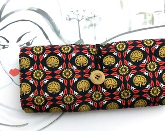Gift for her, Knitting Needle Roll, Rolling Case No. 2